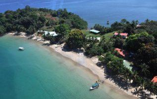 Isla Coiba, declarada Patrimonio de la Humanidad en el 2005 por la Unesco.