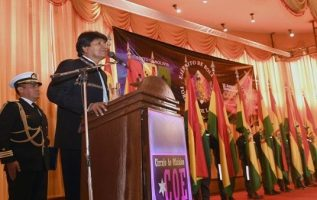 Evo Morales, presidente de Bolivia. EFE
