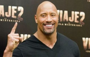 Dwayne Johnson. AFP