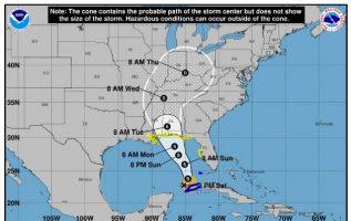 La tormenta subtropical Alberto se mueve cerca del oeste de Cuba