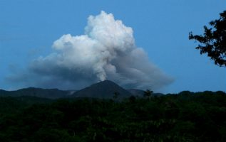 """""""No registraron cambios en el comportamiento sísmico del volcán""""."""