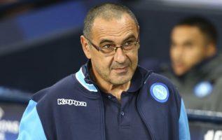 Maurizio Sarri llega procedente del Napoli italiano. Foto AP