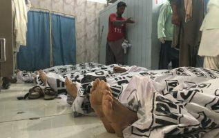 120 personas siguen siendo tratadas en hospitales de sus heridas.