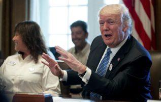 Trump presumió de haber promovido el aumento de la inversión en defensa entre los miembros de la OTAN .