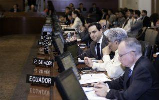 La Conferencia Episcopal de Nicaragua, mediadora y testigo de dicho diálogo, solicitó el 7 de junio a Ortega que adelantara los comicios al 31 de marzo de 2019.