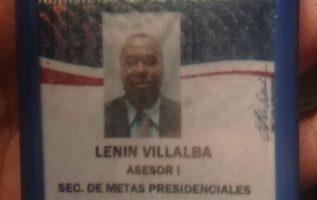 El nombre del asesor es Lenin Villalba.