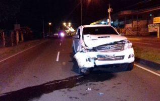 Las autoridades del Tránsito están preocupados por el alto índice de accidentes. Foto/Mayra Madrid
